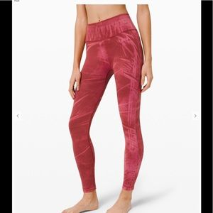 Lululemon highrise ebb to street pant
